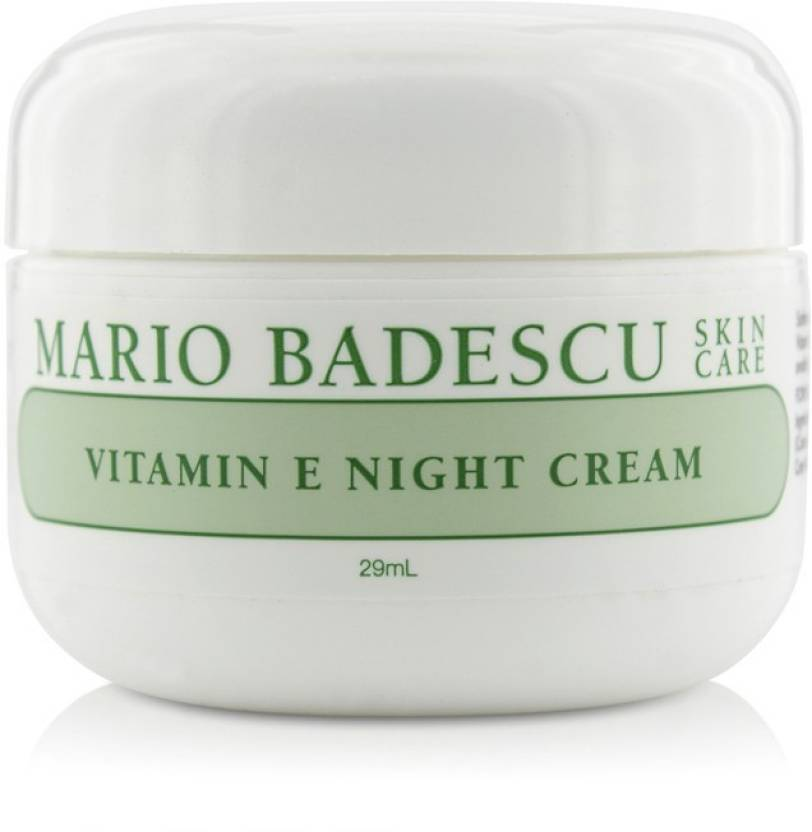 Mario Badescu Vitamin E Night Cream For Dry Sensitive