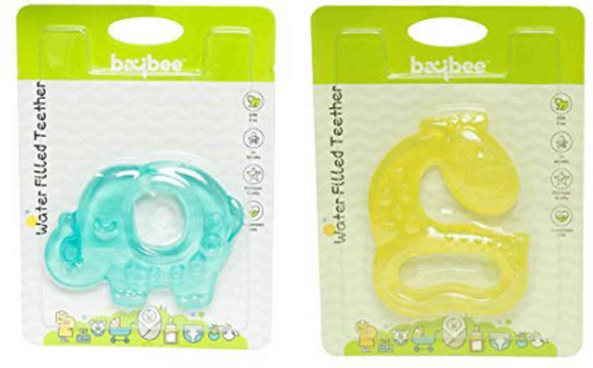 Baybee Cartoon Animal Teething Toys for Best Baby Teether Massage. Molar  Teeth Soother with Soft Sensory ... b864a9bdaf