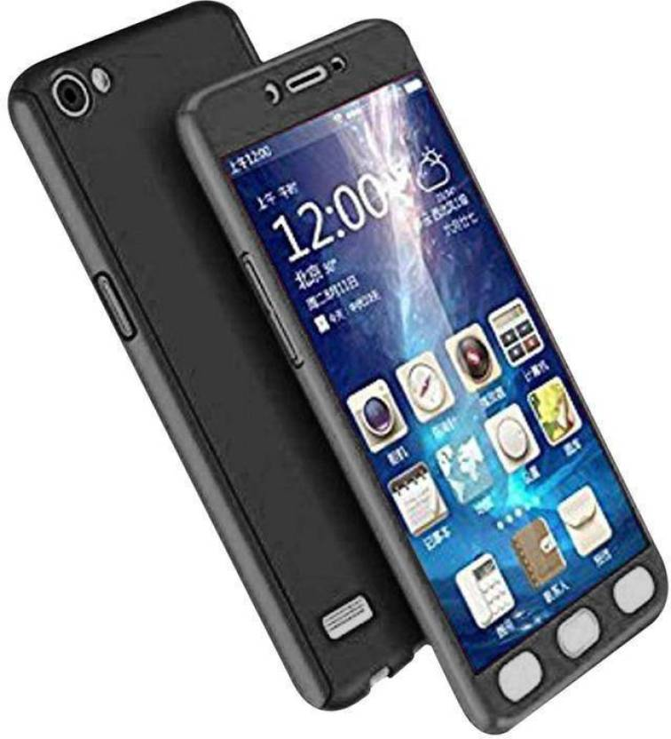 735d88f3ff RKANDROID Front & Back Case for Oppo Neo 7 A33F (Black, Grip Case, Plastic)  (Black, Shock Proof, Plastic)
