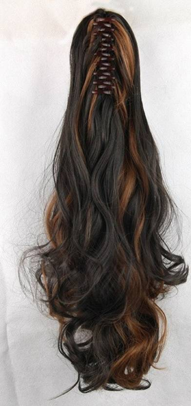 Abrish Golden Highlighting Hair Extension Price In India Buy