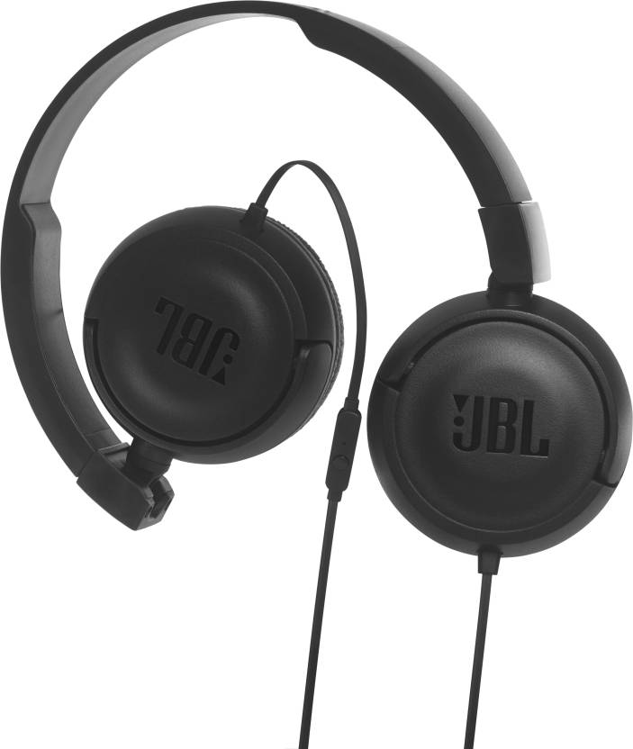 642528de093 JBL T450BLACK Wired Headset with Mic Price in India - Buy JBL ...