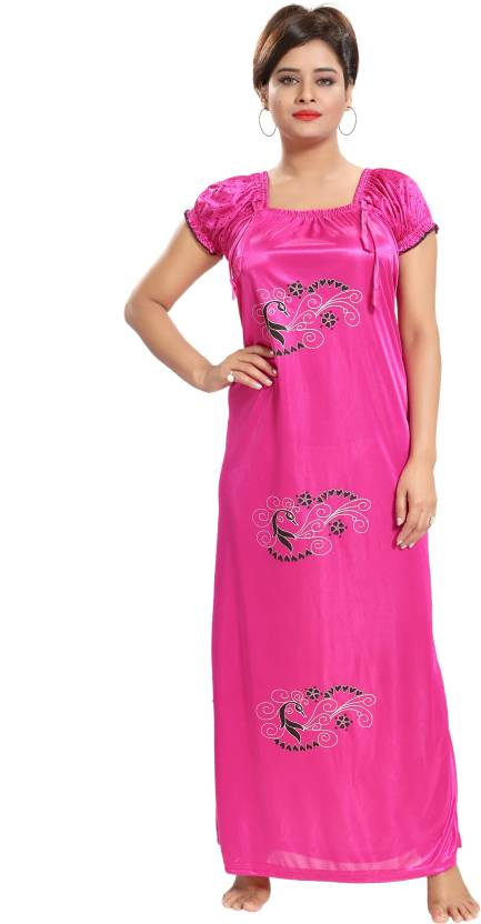 d0b7b4463 Inner Beats Women Nighty - Buy Inner Beats Women Nighty Online at ...