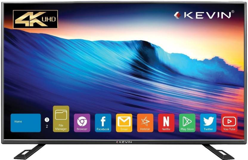 d5d550ecc71 Kevin 140cm (55 inch) Ultra HD (4K) LED Smart TV Online at best ...