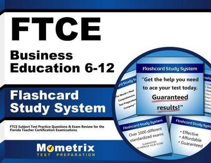 Ftce Business Education 6 12 Flashcard Study System Ftce Subject