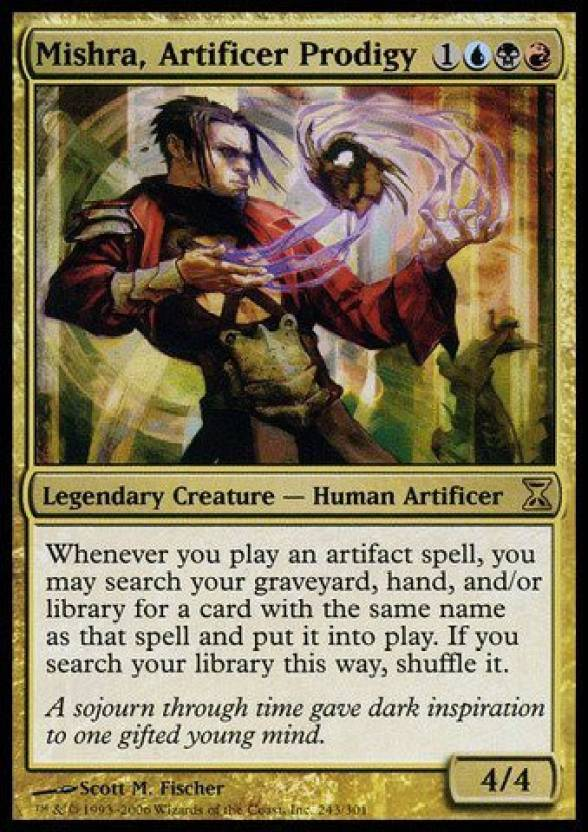 Generic Magic: the Gathering - Mishra, Artificer Prodigy