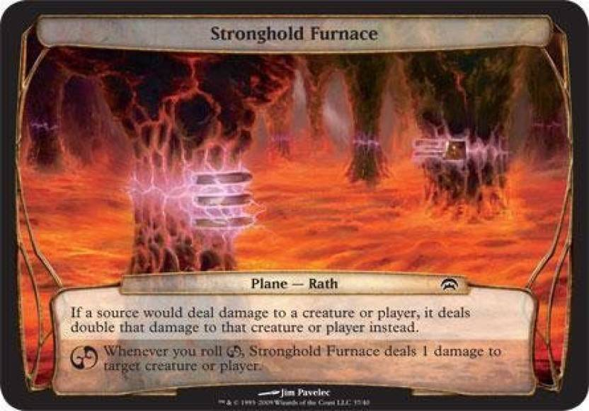 Generic Magic: the Gathering - Stronghold Furnace