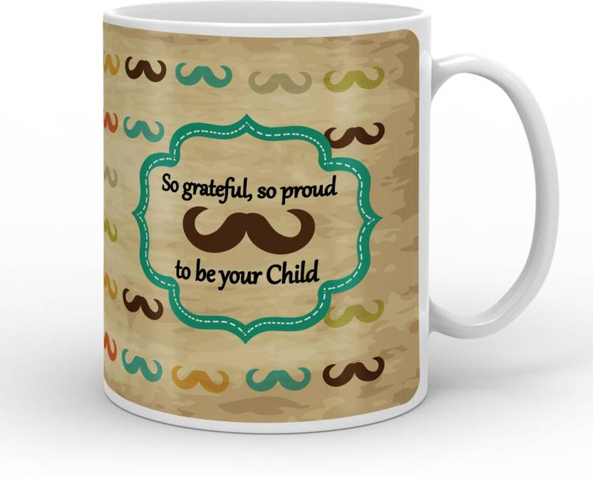 Indigifts Decorative Gift Items For Papa Fathers Birthday Dad Gifts Parents Day Grateful Proud To Be Your Child