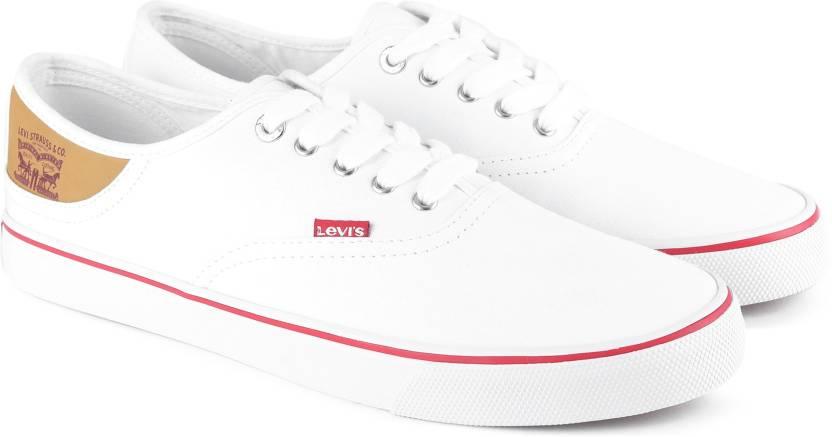 ab5d5163 Levi's Derby Classic Sneakers For Men - Buy WHITE Color Levi's Derby ...