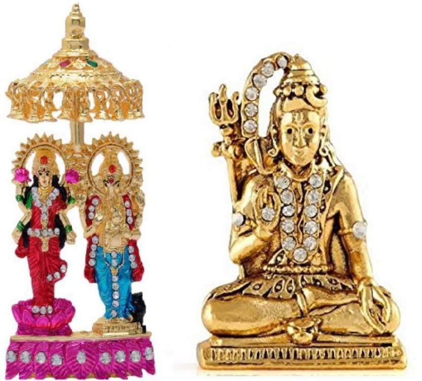 Ishi Tanishi Collections Combo 2 Statue Lord Shiva Maa Laxmi