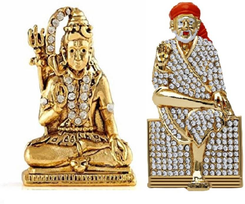 Ishi Tanishi Collections Combo 2 Statue Lord Sai Shiv Shankar