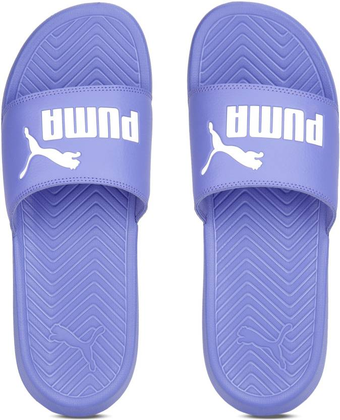 35fb098d40f55 Puma Popcat Slides - Buy Baja Blue-Puma White Color Puma Popcat Slides  Online at Best Price - Shop Online for Footwears in India