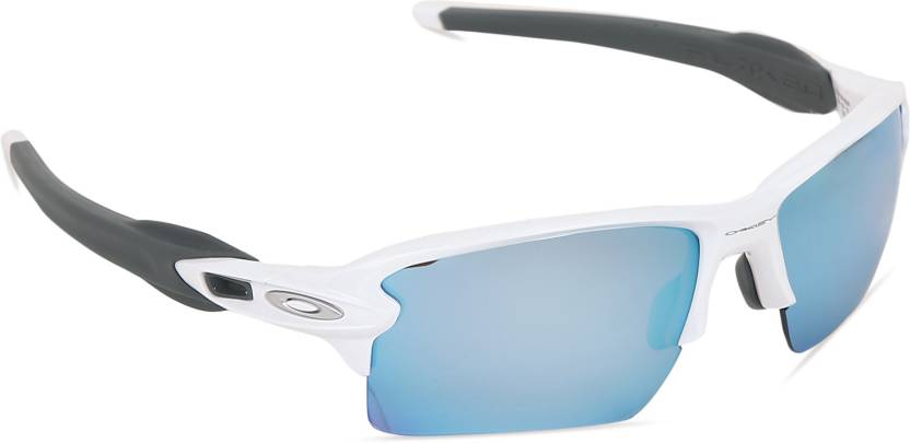 a35e422e729 Buy Oakley FLAK 2.0 XL Sports Sunglass Blue For Men   Women Online ...