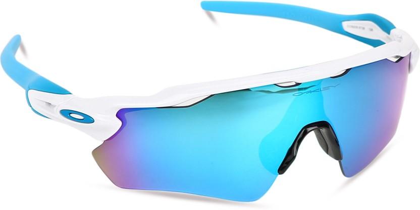 buy oakley radar ev path sports sunglass blue for men women online rh flipkart com