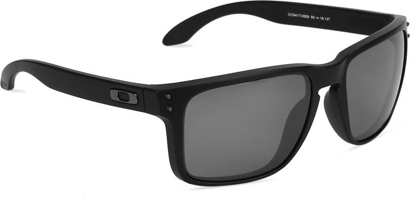 1666be91f8e Buy Oakley HOLBROOK XL Wayfarer Sunglass Black For Men   Women ...