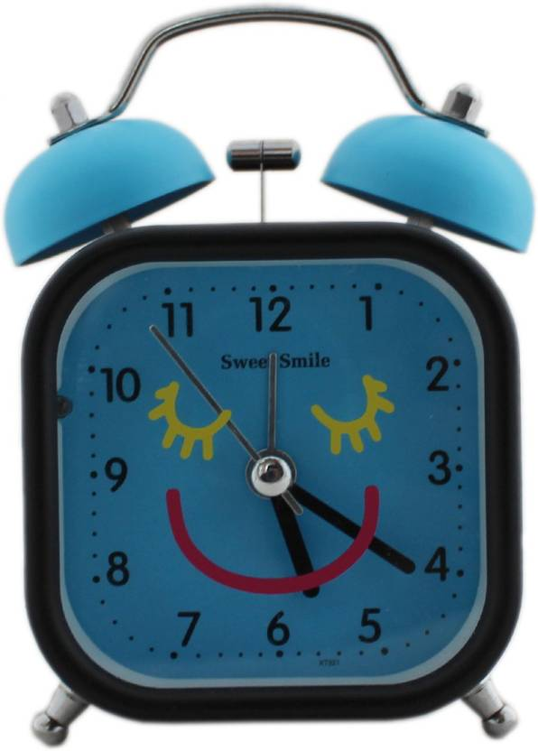 Tootpado Analog Twin Bell Alarm Clock With Light 4 5 Inch