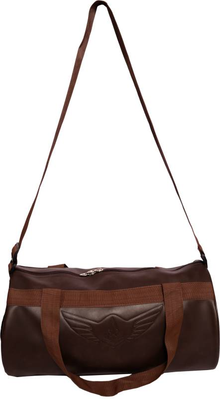 033b1e4704 Auxter Leatherite Gym Bag Brown - Price in India