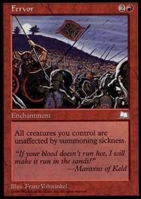 Generic Magic: the Gathering - Fervor - Weatherlight Price