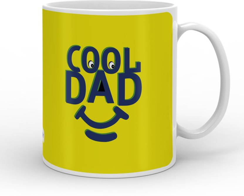 Indigifts Decorative Gift Items Fathers Birthday For Papa Day Gifts Dad Anniversary Mom Cool Quote Ceramic Mug