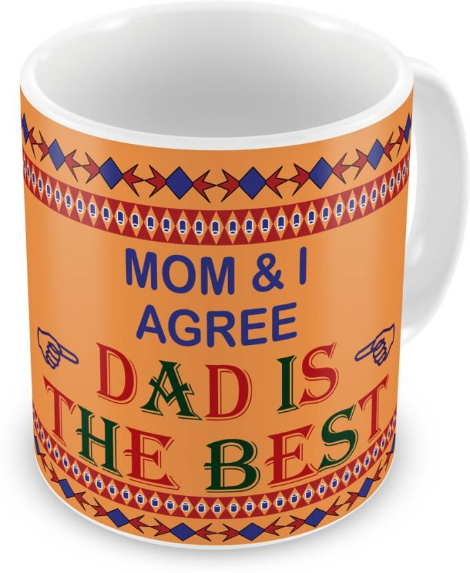 Indigifts Decorative Gift Items For Papa Fathers Birthday Dad Gifts Parents Anniversary Mom Is The Best Quote