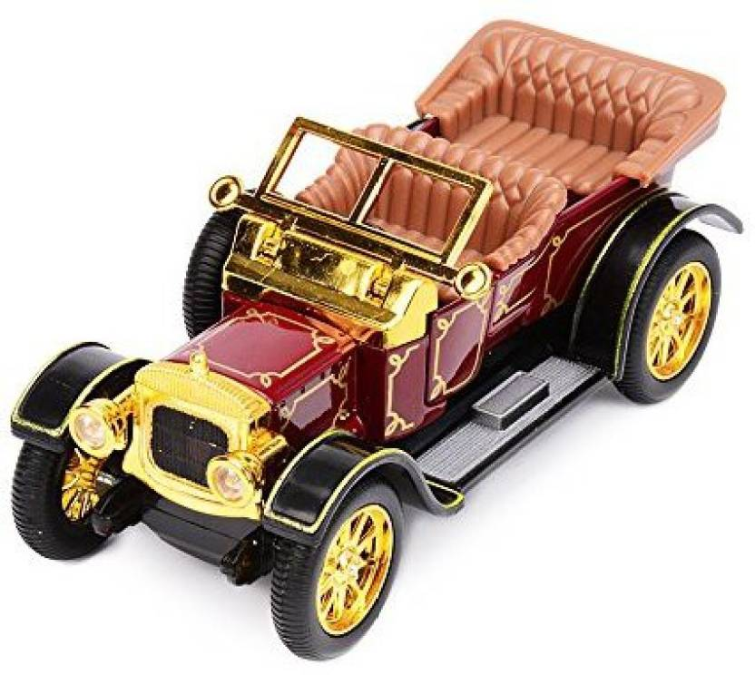 Baidercor Diecast Cars Toys 1:32 Claret Red Vintage Cars - Diecast Cars  Toys 1:32 Claret Red Vintage Cars . shop for Baidercor products in India.