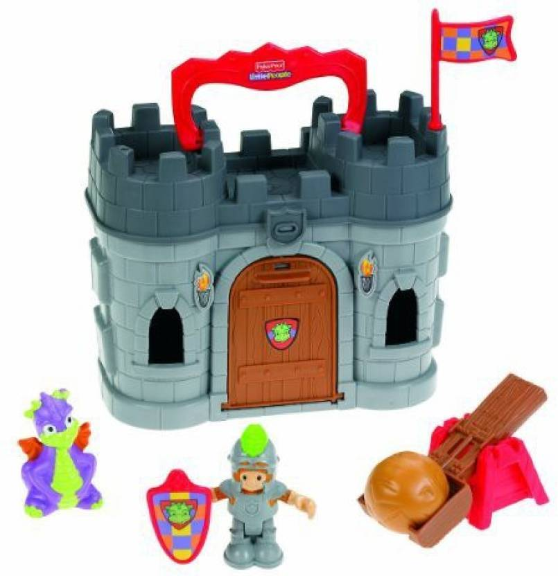 fisher price fisher price little people play n go castle fisher