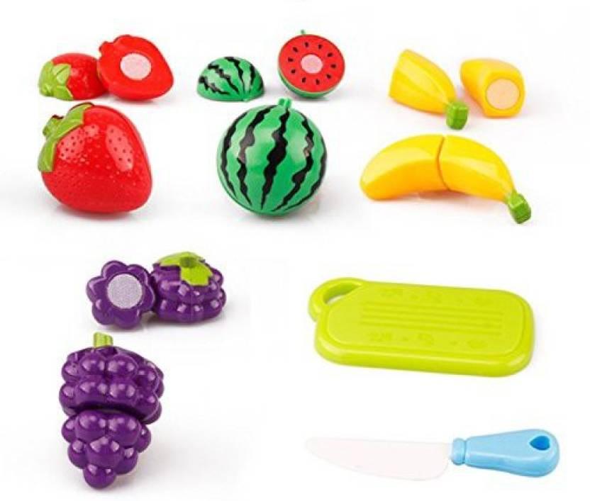 62e52c26208c7 CCNN Toys 6Pcs Set Children Play House Toys For Children Cut Fruit Plastic Vegetables  Kitchen Baby Classic Kids Pretend Educational Gifts - 6Pcs Set ...
