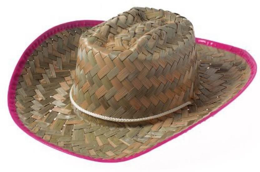 ede47efa6395b US Toys Cowgirl Hats - Straw Cowboy Hat For Girls With Pink Trim - Cowboy  Costume Hat - Cowgirl Hats - Straw Cowboy Hat For Girls With Pink Trim -  Cowboy ...