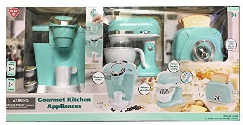 Playgo Children S Gourmet Kitchen Appliances Playset