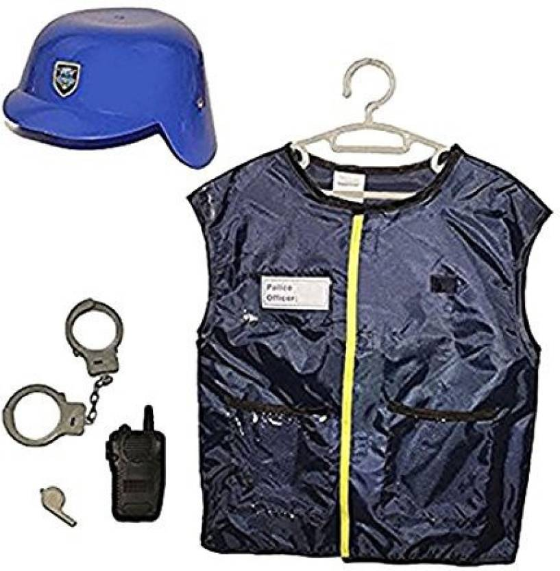 87462d4b1cd1 Toy Cubby Police Officer Role Play Dress Up Costume Kit - 5 Piece ...