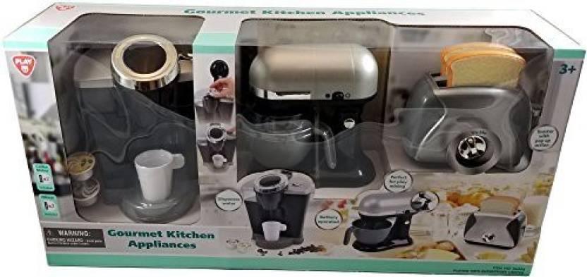 Playgo Gourmet Kitchen Appliances Pretend Play 3 Piece Set