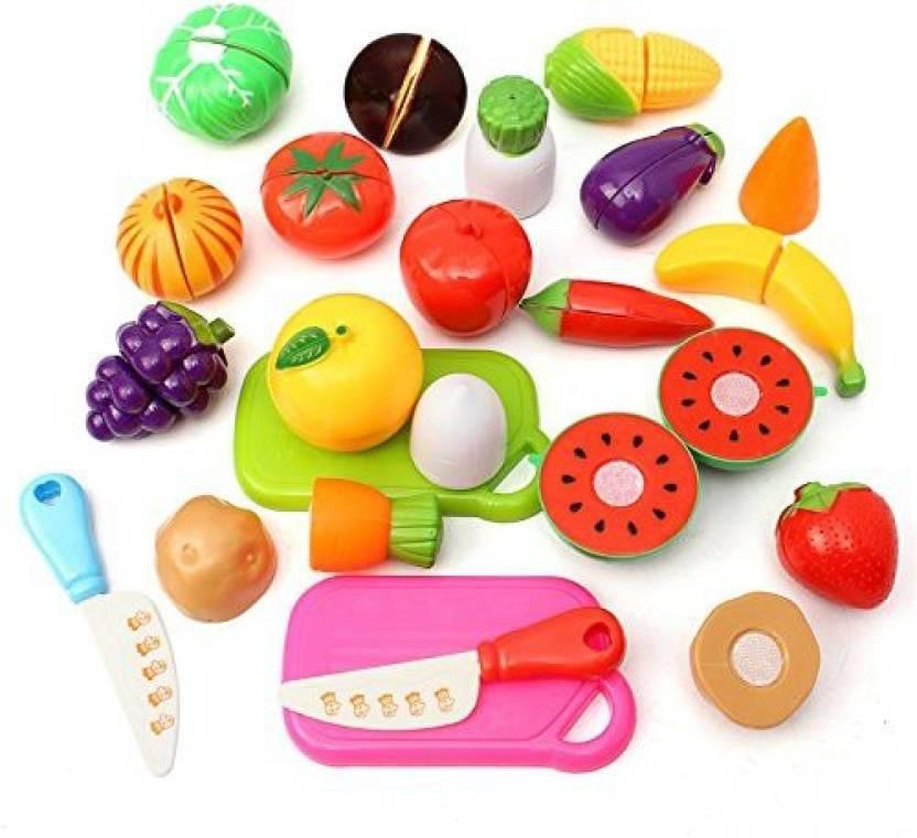 New Brand Name Bangbang 20pcs Kitchen Fruit Vegetables Food Toy