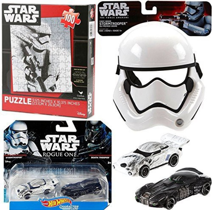 STORMTROOPER STAR WARS HOT WHEELS CHARACTER CARS ROGUE ONE DEATH TROOPER