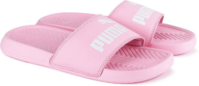 15934808cb1 Puma Popcat Slides - Buy pink Color Puma Popcat Slides Online at Best Price  - Shop Online for Footwears in India