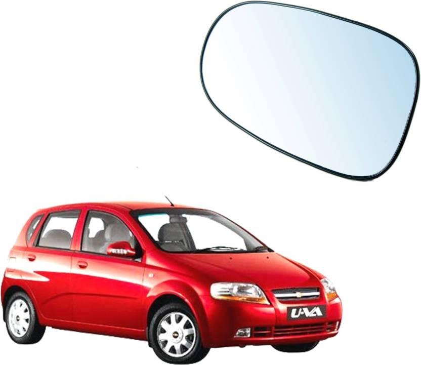 Auto Spare Bazaar Manual Rear View Mirror For Chevrolet Aveo Uva