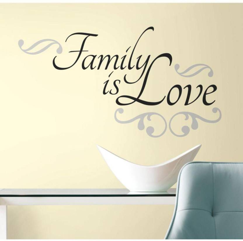 Fantaboy Love My Family Quotes Wall Decal Sticker 60 X 70 Price