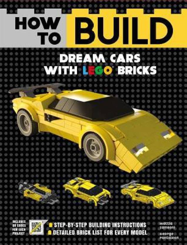 How to Build Dream Cars with Lego Bricks - Buy How to Build Dream