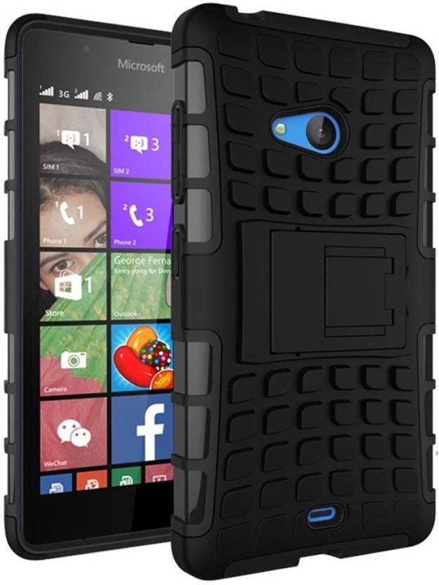 low priced 657f7 67b58 Cover Alive Back Cover for Microsoft Lumia 540