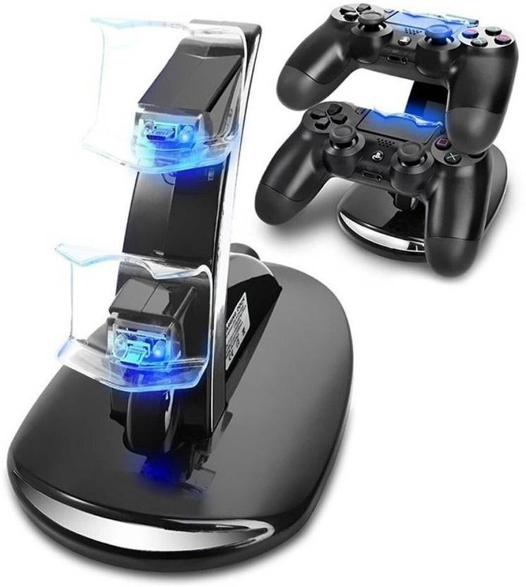 06975781 Everycom PS4 Controller Charging Dock Stand, USB Dual Charger Station  Accessory with LED Indicator for Sony Playstation 4 Gaming Accessory Kit