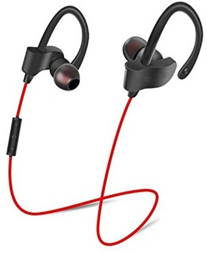 53be8d333dd SCORIA QC10 JOGGER Wireless Bluetooth Headset with Mic (Black, In the Ear)