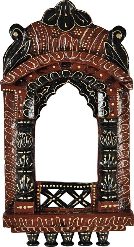 Lal Haveli Indian Ethnic Photo Frame