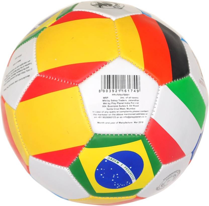 f0e63f133 FIFA World Cup Russia All Country Football - Size: 5 (Pack of 1, Multicolor)
