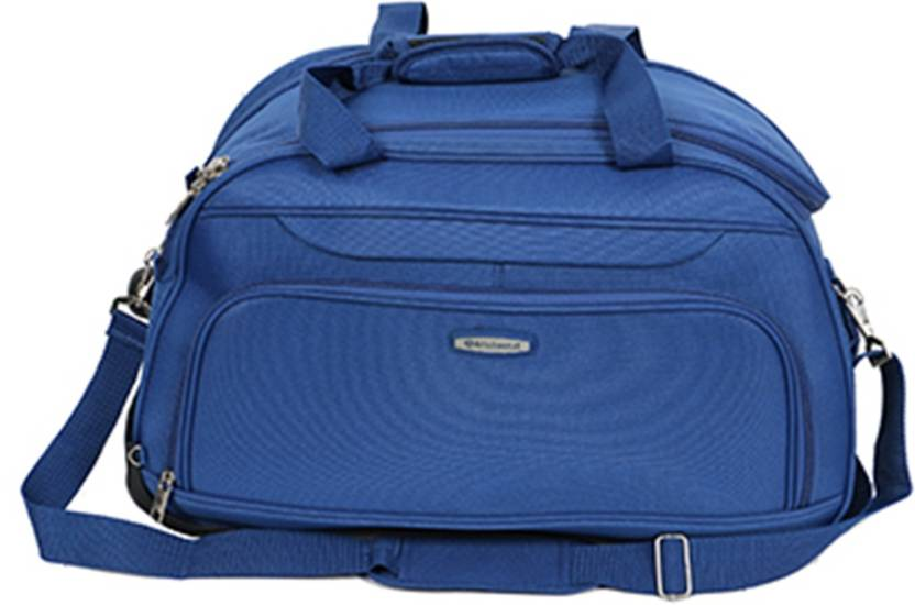 e29ca148c5e6 Aristocrat Dart 65 cm Duffle On Wheels (Blue) Travel Duffel Bag Blue ...