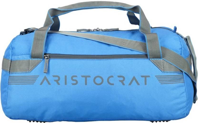 Aristocrat 20 inch 51 cm RACE DUFFLE 52 BLUE Travel Duffel Bag Blue ... ba71fc9d05e74