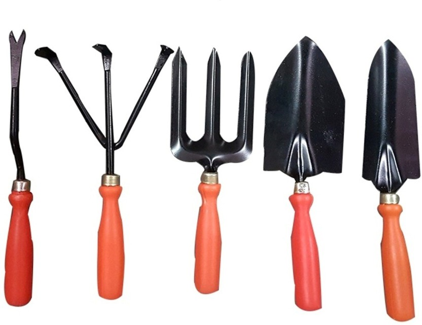 JetFire Gardening Tools Set Of 5 Garden Tool Kit