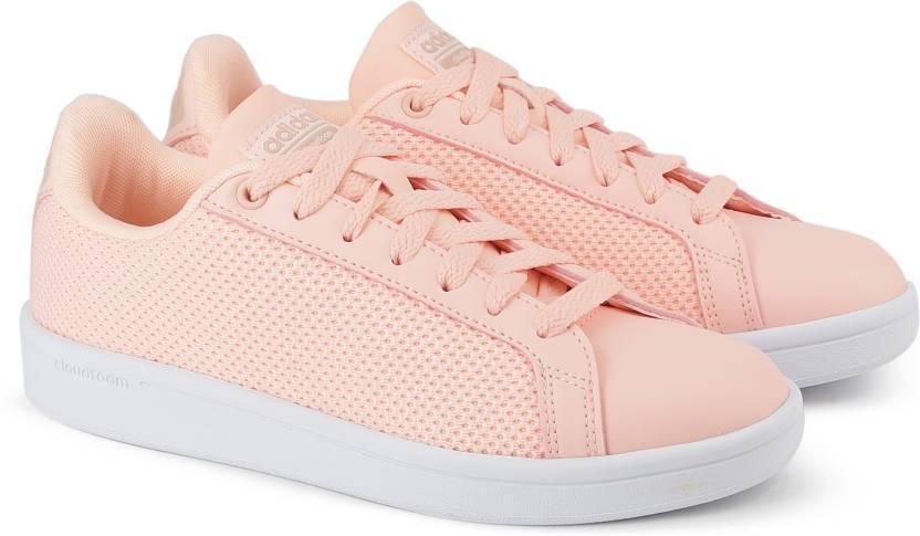 detailed look f4d9a d4907 ADIDAS CF ADVANTAGE CL W Tennis Shoes For Women (Orange)