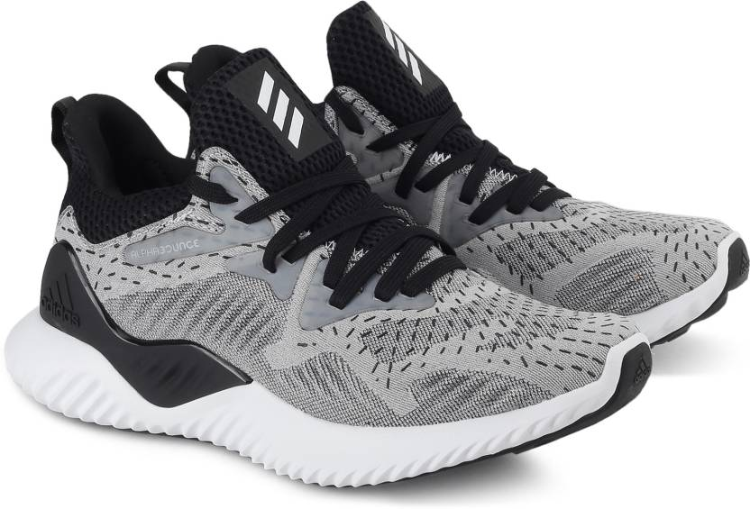 buy popular 6c892 293e7 ADIDAS ALPHABOUNCE BEYOND W Running Shoes For Women (Black, Grey)