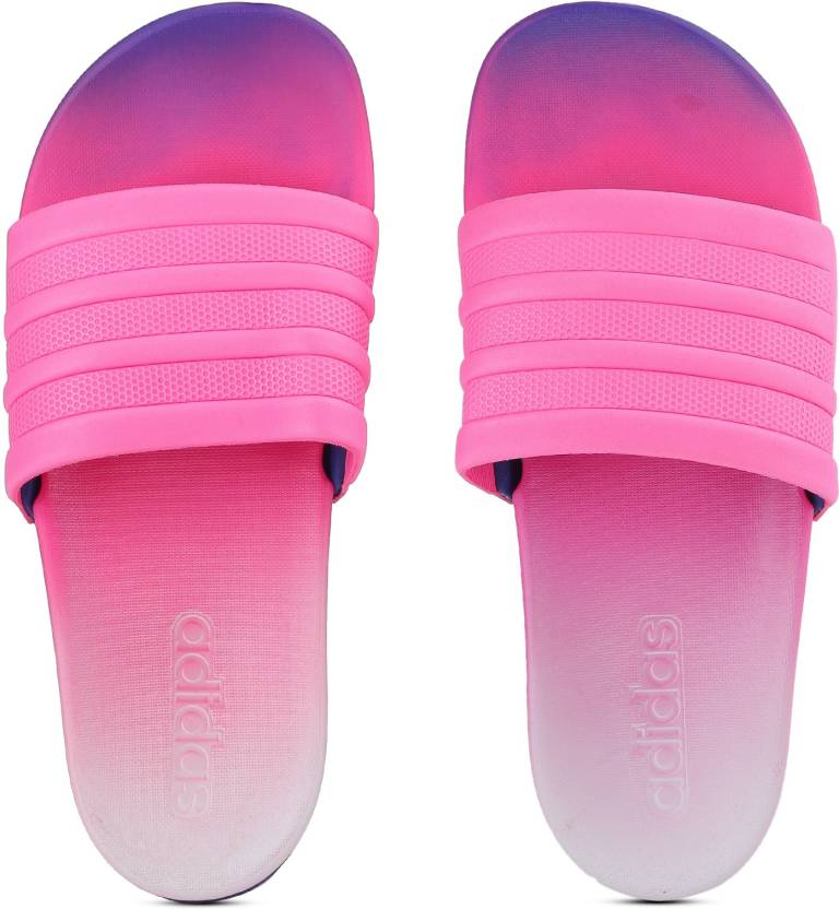 the latest 08043 a490d ADIDAS ADILETTE CF+ FADE W Slides - Buy SHOPINCROYALAERBLU Color ADIDAS  ADILETTE CF+ FADE W Slides Online at Best Price - Shop Online for Footwears  in ...