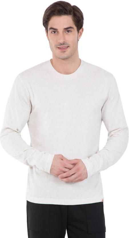 a84e4098081 Jockey Typography Men Round Neck White, Blue T-Shirt - Buy CRMML Jockey  Typography Men Round Neck White, Blue T-Shirt Online at Best Prices in  India ...