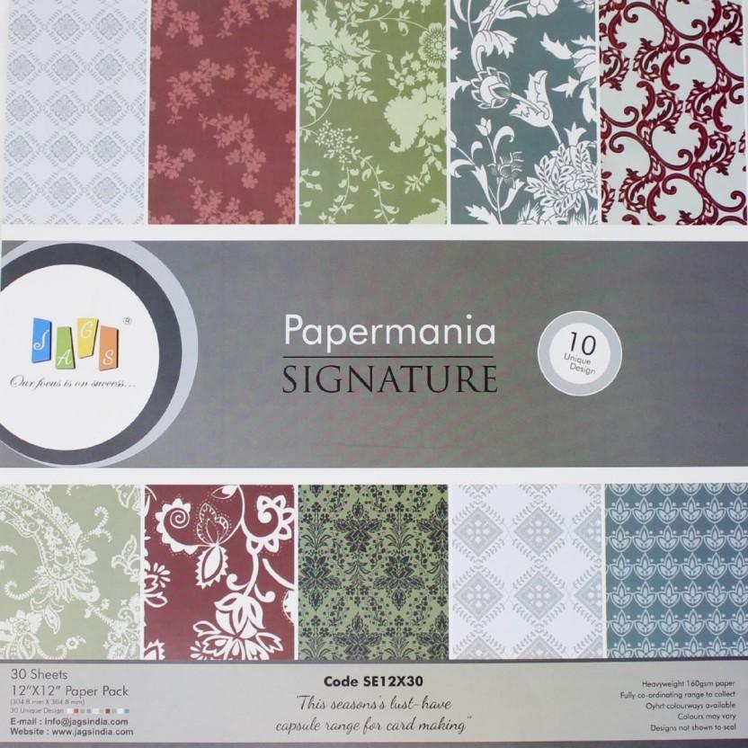 12x12 Papermania Decorative Scrapbooking Paper Multi-Colour