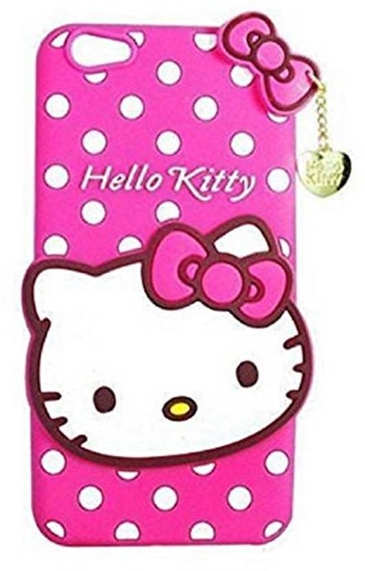 the latest 463af 21ac1 Dream2Cool Back Cover for Cute Hello Kitty Soft Silicone Printed ...